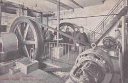 CPA  Animée (21) DIJON Grande Taverne Salle Des Machines Ouvrier Usine - Dijon