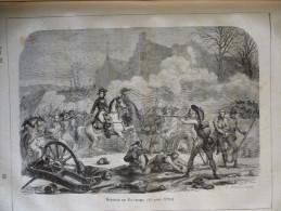 Bataille De Millésimo , 13 Avril 1796 , Gravure De Charpentier Dessin De Laisné 1880 - Stampe & Incisioni