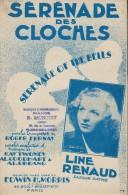 Sérénade Des Cloches/Fernay/ Line Renaud/ Melrose Music Corp// 1947    PART75 - Partitions Musicales Anciennes