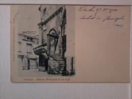Cartolina  -  Viterbo - Balcone Medioevale I Via Saffi. - Viterbo
