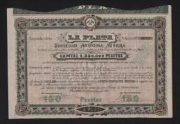 LA PLATA (ESPAGNE) (E) - Hist. Wertpapiere - Nonvaleurs
