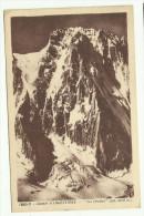 """Carte Postale Glacier D´Argentière """"Les Droites"""" - Francia"""
