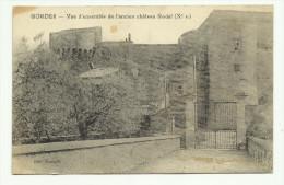 Carte Postale Gordes Vue D´ensemble De L´ancien Château - Francia