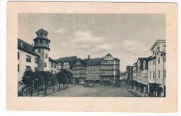 D4805    WITZENHAUSEN A.d. WERRA : Marktplatz Mit Rathaus Und Bronnen - Witzenhausen
