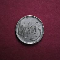 LISBOA - CABARET MAXIM´S - FICHA DE JOGO - 200 - Casino