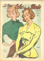"""Revue Ancienne  1950""""le Petit Echo De La Mode"""" N° 5 - Mode"""