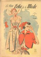 """Revue Ancienne  1950""""le Petit Echo De La Mode"""" N° 23 - Mode"""