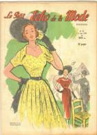 """Revue Ancienne  1950""""le Petit Echo De La Mode"""" N° 24 - Mode"""