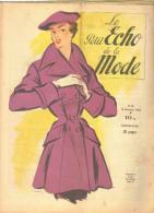 """Revue Ancienne  1950""""le Petit Echo De La Mode"""" N° 50 - Mode"""