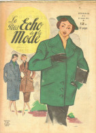 """Revue Ancienne  1951""""le Petit Echo De La Mode"""" N° 3 - Mode"""