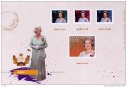 CANADA 2012, UX 269, DIAMOND JUBILEE,  POSTCARD  # 5 FROM KEEPSAKE #5, - Cartes Illustrées Officielles