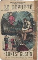Le Déporté/Récit Dramatique/Régiane/ Ernest Gustin/ / Vers 1885 1895    PART82 - Partitions Musicales Anciennes