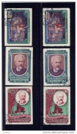 """RUSSIA, 1958, # 2044-46, PERF & IMPERF, Swan Lake Ballet & Tchaikovsky  """"CANCELLED TO ORDER - 1923-1991 URSS"""