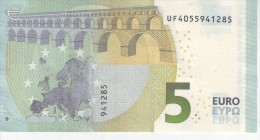 France UF40555941285 Année 2013 Signé Draghy Circulé - 5 Euro
