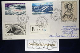 TAAF, Cover 1981  Mixed Stamps  Recommandé - French Southern And Antarctic Territories (TAAF)