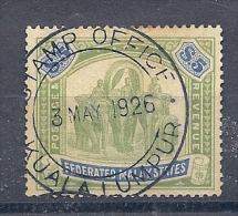 140016524  MALASIA  YVERT  Nº  37  (CA  MULT) - Federated Malay States