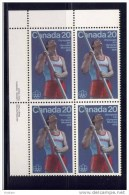CANADA, 1975, #664, POLE VAULT      UL      MNH - Blocs-feuillets