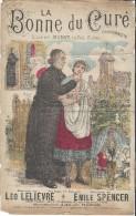 La Bonne Du Curé/Chansonnette/  Léo Leliévre/ Emile Spencer/Pascal  / Charaire/Sceaux// Vers 1885-1895     PART91 - Partitions Musicales Anciennes