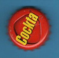 CROATIA  -  COCA COLA  COCKTA      BOTTLE CROWN CAP / KRONKORKEN /TAPPI-USED