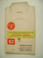 PUBBLICITARIO CAMICIA GORENA TEXYLON  PADOVA     BROCHURE DEPLIANT  TESSUTI - Livres, BD, Revues