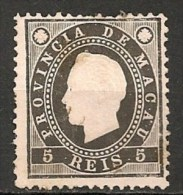 Timbres - Portugal - Macao - 1888 - 5 Reis - - Macao