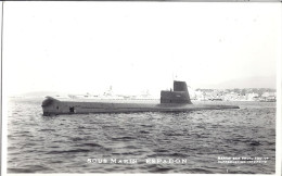 "SOUS-MARIN   ""L´ESPADON""   PH. MARIUS BAR TOULON - Unterseeboote"