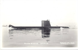 "SOUS-MARIN   ""DORIS""   PH. MARIUS BAR TOULON - Unterseeboote"