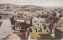 PC Jerusalem - Vue De Jerusalem Prise De La Casa-Nova - 1921 (9617) - Israel