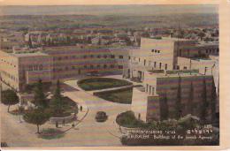 PC Jerusalem - Buildings Of The Jewish Society - 1951 (9619) - Israel
