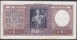 Argentina, 1 Peso, P.263b (with Dark Line In Upper Watermark) VF - Argentina