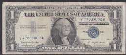 U.S.A, 1 Dollar, P.419b (Series 1957B) G (Hole Top Left) - Silver Certificates (1928-1957)