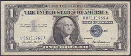 U.S.A, 1 Dollar, P.419 (Series 1957) F (tear Into Design On Right) - Silver Certificates (1928-1957)
