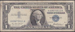 U.S.A, 1 Dollar, P.419 (Series 1957) VG (Soiling Of Paper) - Silver Certificates (1928-1957)