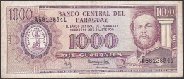 Paraguay, 1000 Guaranies, P.207 (1982 Printer Thomas De La Rue) F - Paraguay