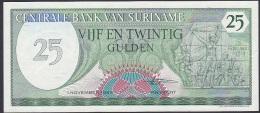 Suriname, 25 Gulden, P.127b (1985) A-UNC - Surinam