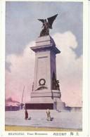 Shanghai China, Peace Monument, C1910s/20s Vintage Postcard - China