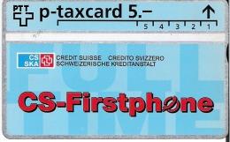 PTT p: 425L SKA Schweizerische Kreditanstalt, CS-Firstphone