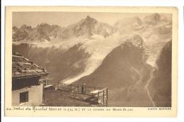 Cp, 74, Au Dessus Des Houches, Merlet Et La Chaine Du Mont-Blanc, écrite 1934 - France