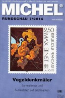 Briefmarken Rundschau MICHEL 7/2014 Neu 6€ New Stamps Of The World Catalogue And Magacine Of Germany ISBN4 194371 105009 - Suiza
