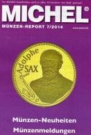 Briefmarken Rundschau MICHEL 7/2014 Neu 6€ New Stamps Of The World Catalogue And Magacine Of Germany ISBN4 194371 105009 - Allemand