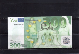 Billet Fictif Allemand 300 Euros, Femmes Nues - [17] Falsi & Campioni