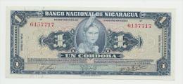 Nicaragua 1 Cordoba 1954 UNC NEUF Pick 99a  99 A - Nicaragua