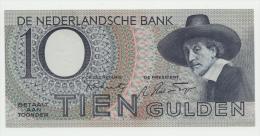 Netherlands 10 Gulden 1943 AUNC+  P 59 - 10 Gulden