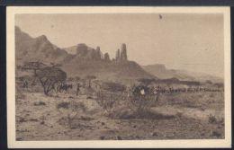 WC489 DA HAUZIEN AD ADDI ZUBBAHA , 2° DIVISIONE ERITREA ( NOVEMBRE 1935 ) - Erythrée