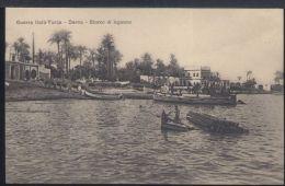 WC501 DERNA -SBARCO DI LEGNAME - Libyen