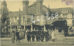 Ostende - Deutsche Matrosen Vor Ihrem Quartier , Den Spielsälen Von ... - Duitse Postkaart - Feldpost 1915 ( Verso Zien - Oostende
