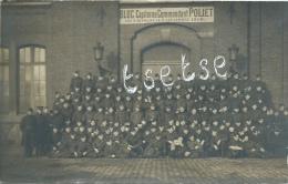 Vilvoorde - Kazerne Poliet - Group Soldaten - Fotokaart ( Verso Zien ) - Vilvoorde