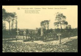 """Poperinghe  Poperinge 1920  - cemetery """" Remy """" cimeti�re  kerkhof   Section Fran�aise"""