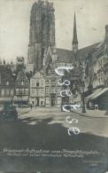 Mechelen Mit Seiner Berühmten Kathedrale - Original-Aufnahme -Duiste Postkaat - Feldpost 1914 ( Verso Zien ) - Malines