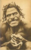 Cannibale Papua Neu Guinea Papuasia Um 1920 - Papua-Neuguinea